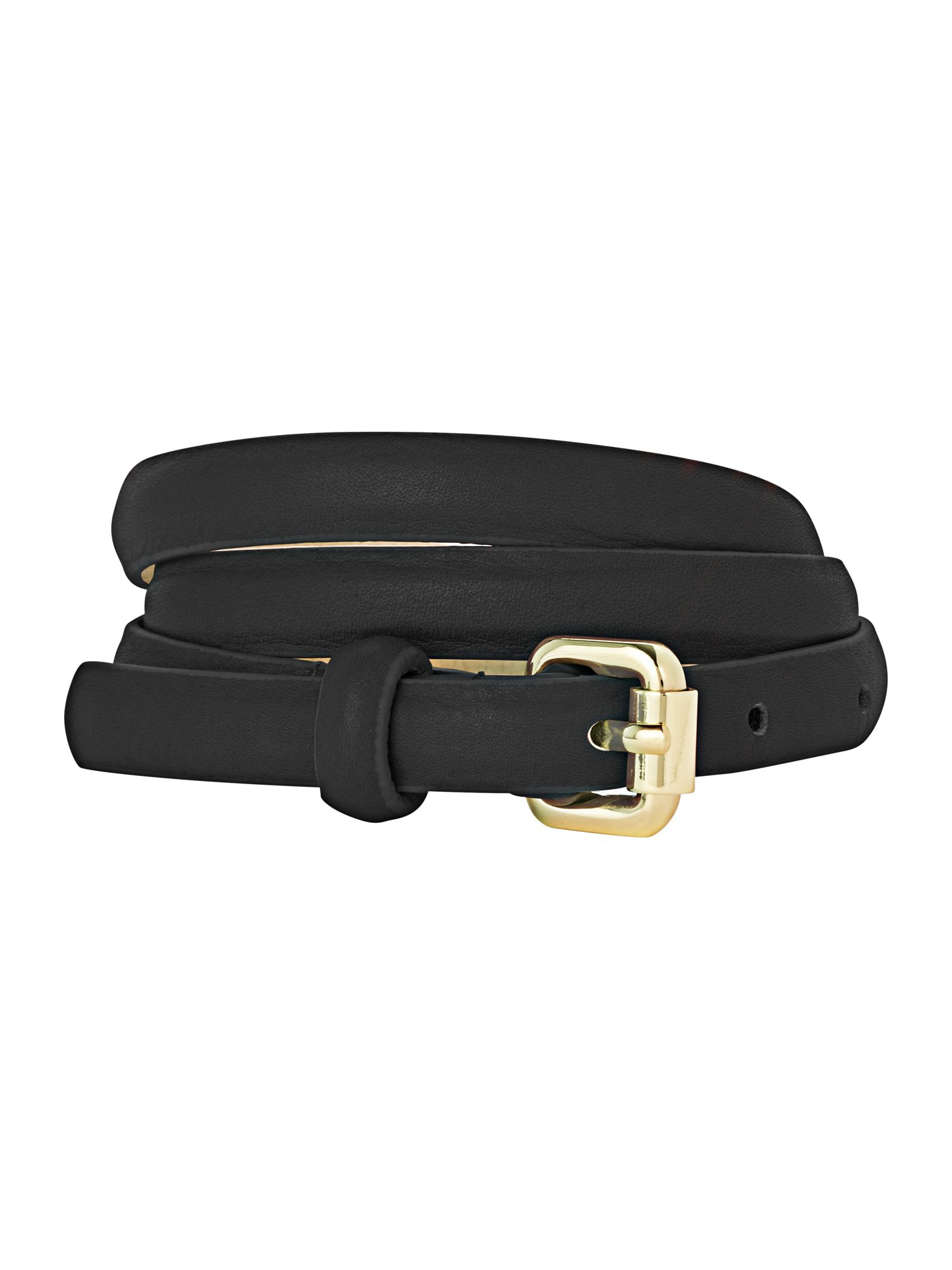 Skinny Leather Trouser Belt