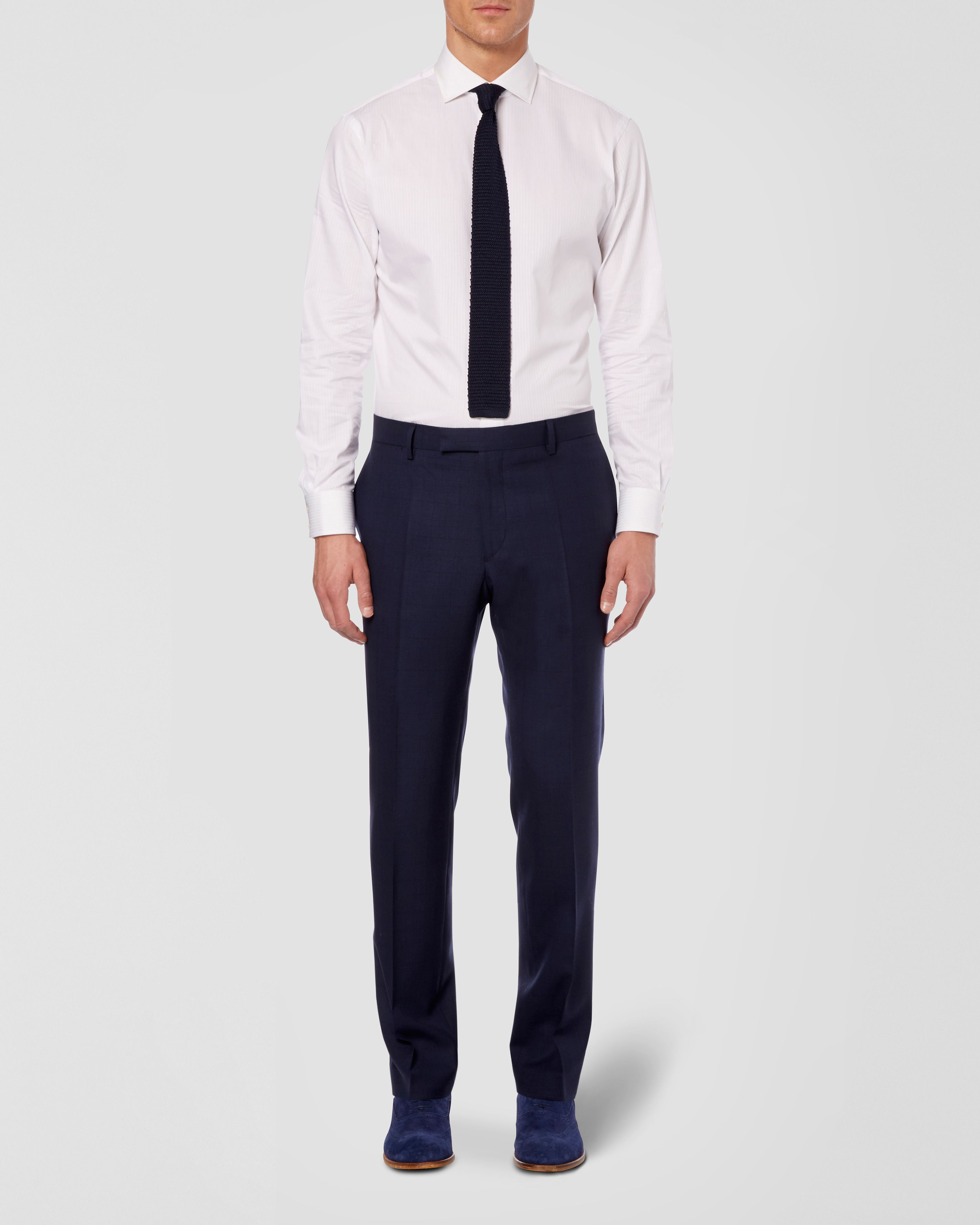 Eastbury formal tailored suit trousers