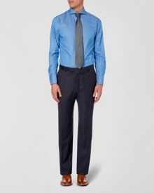 Pinhead formal suit trousers