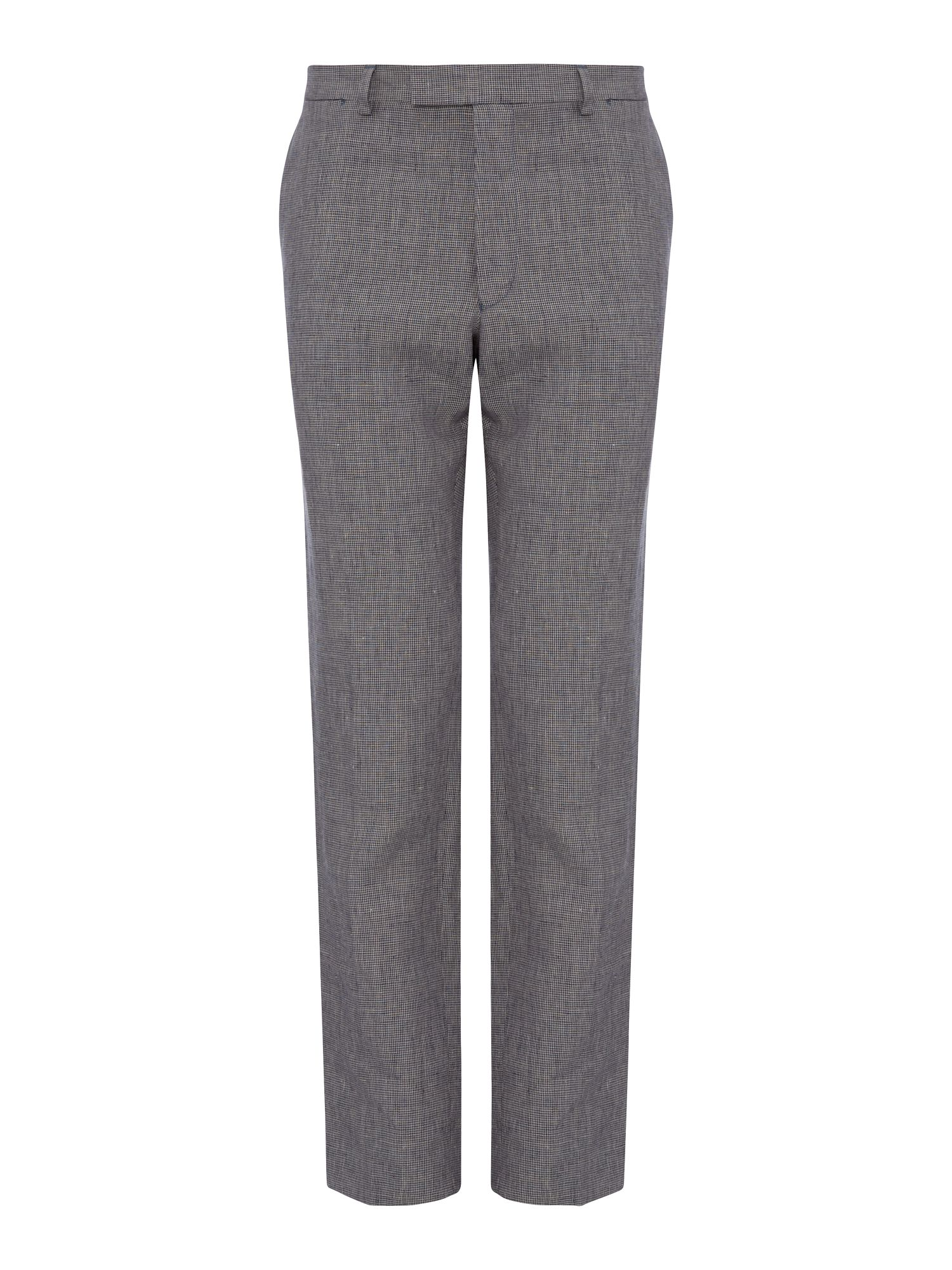 Irish Linen Puppytooth suit Trousers