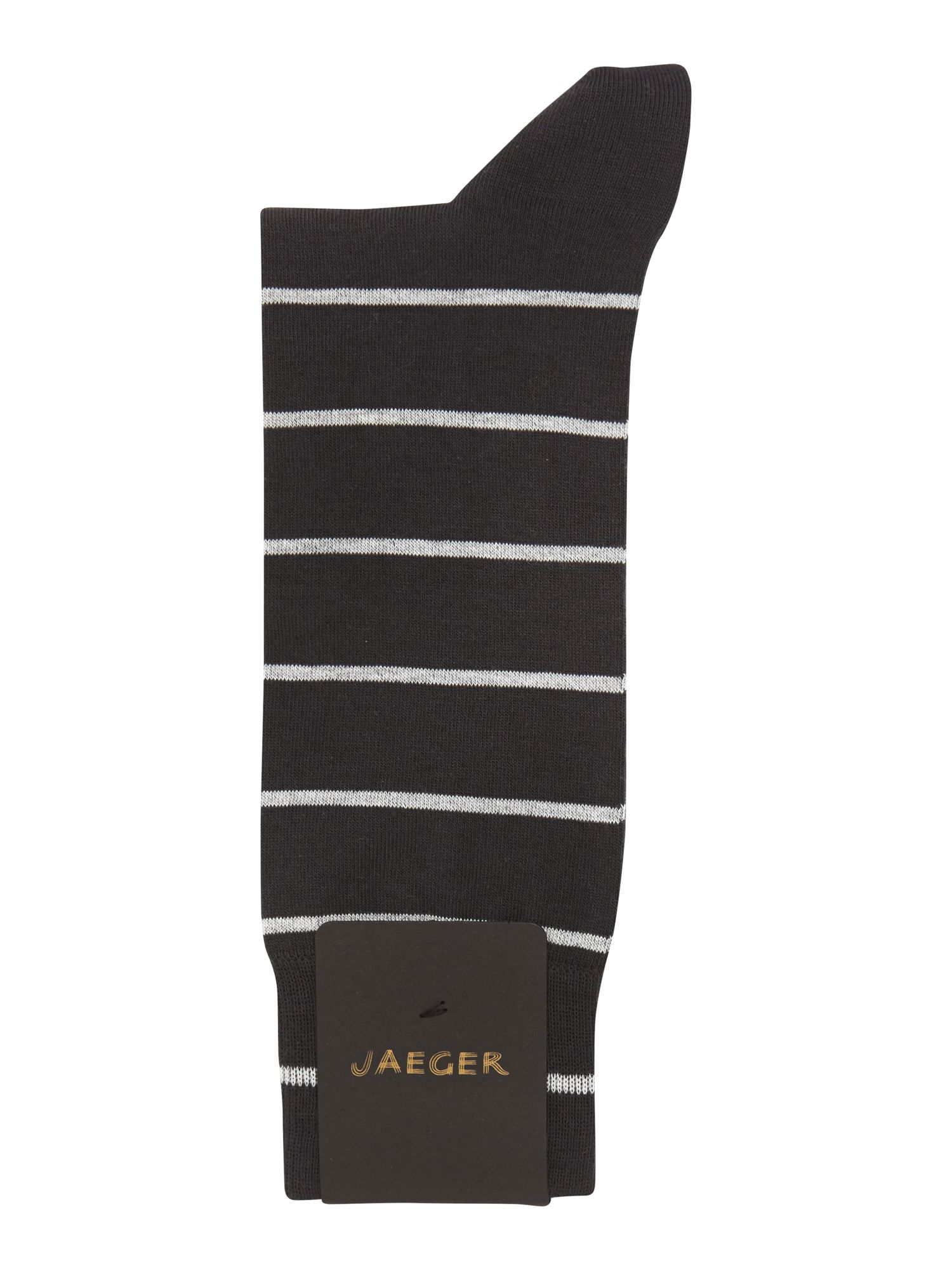 Formal stripe sock