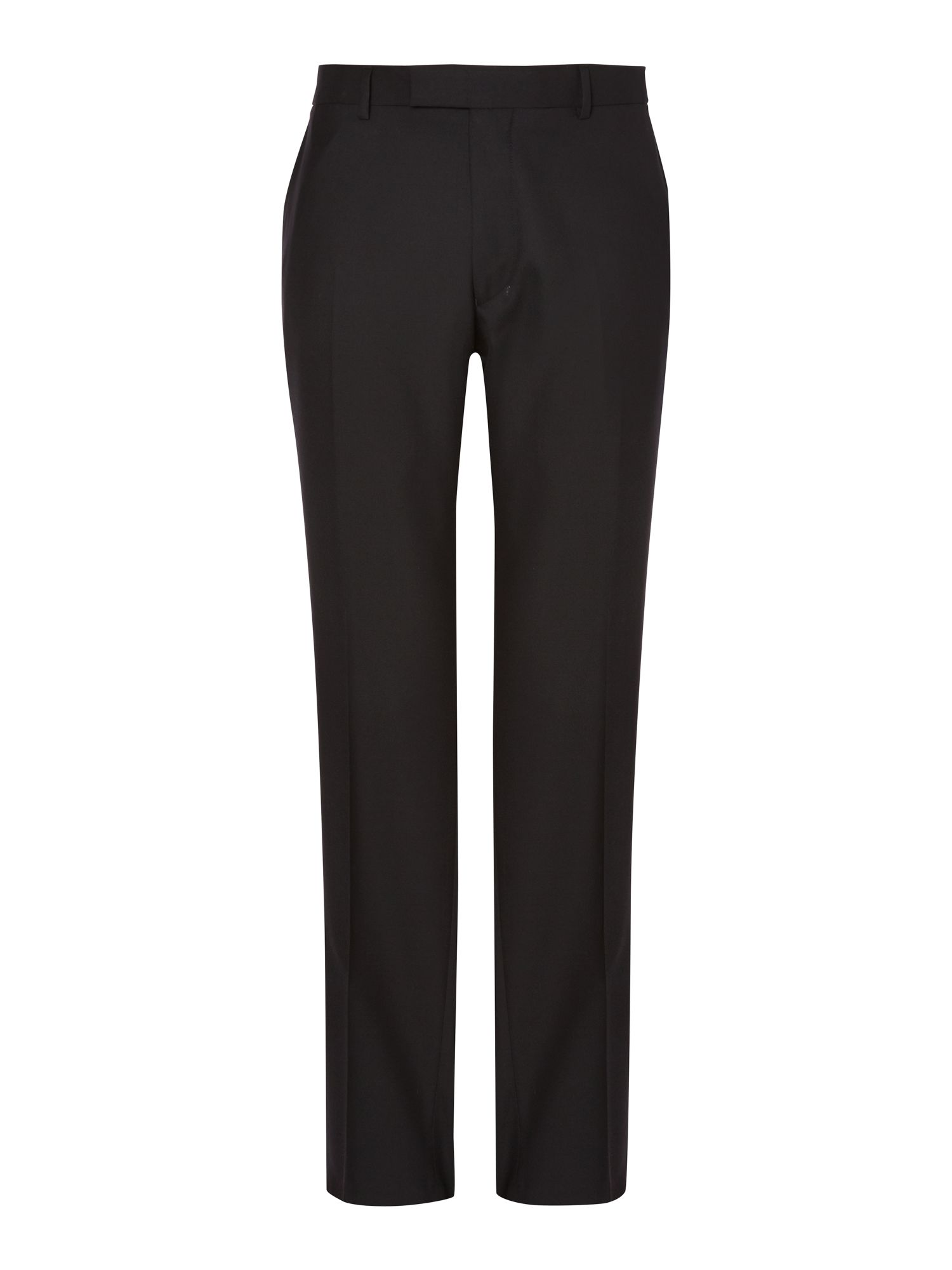 Plain twill formal suit trouser