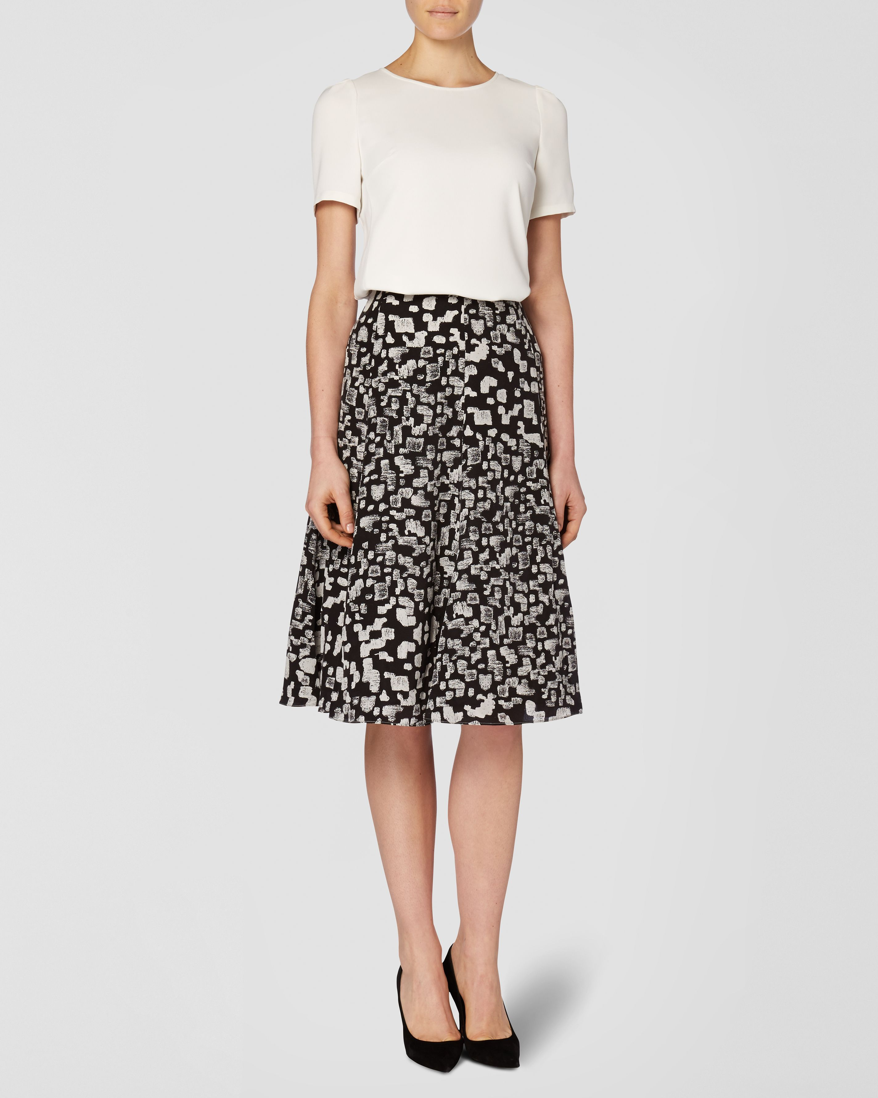 Pebble Print Skirt