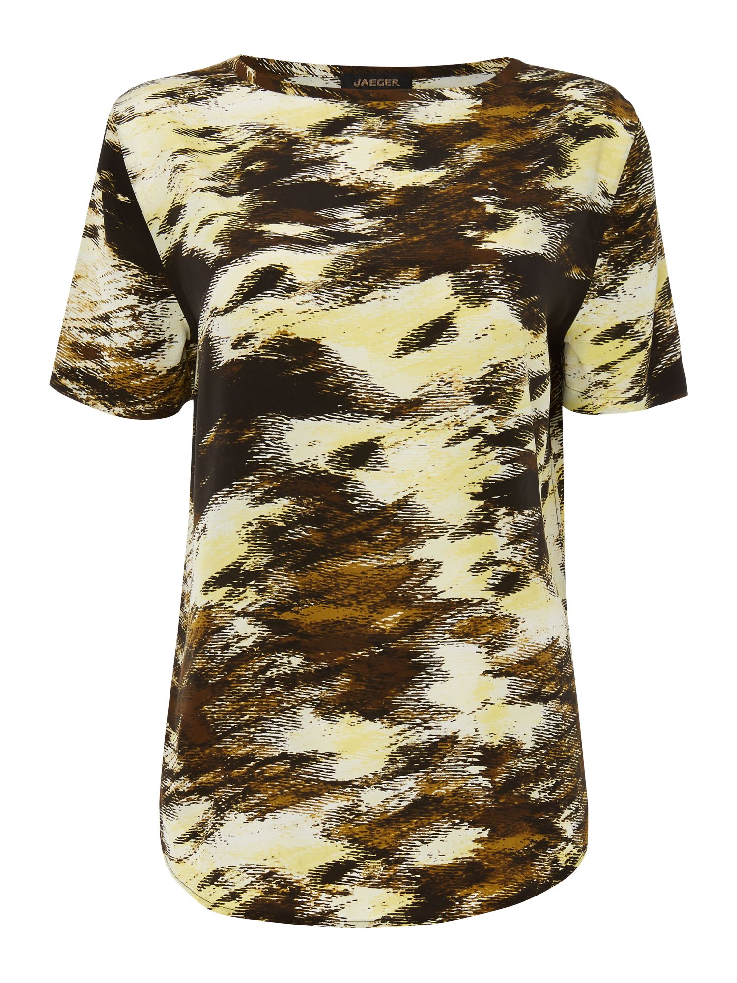 Blurred Print T-shirt