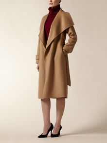Jaeger: Wool Wrap 3/4 Coat