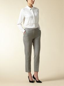 Wool Puppytooth Trouser