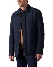 Casual Showerproof Quilted Jacket