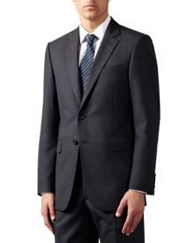 Jaeger Plain Classic Fit Twill Suit Jacket