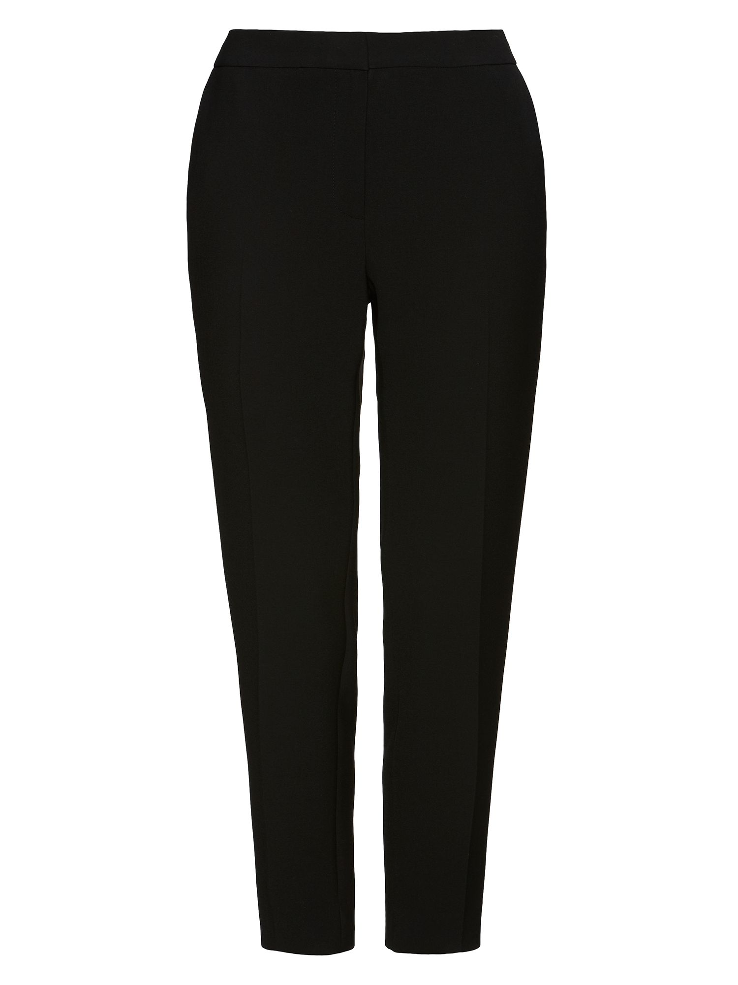 Jaeger Jaeger: Stretch 7/8ths Trousers, Black