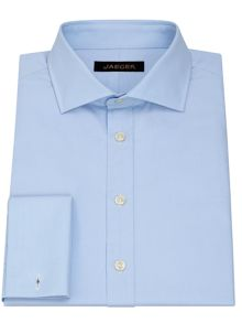 Classic Fit Poplin Shirt Cutaway Collar