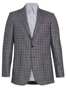 Glen Check Casual Blazer