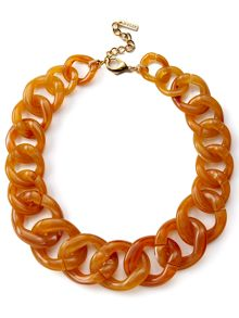Jaeger: Chunky Resin Chain Necklace