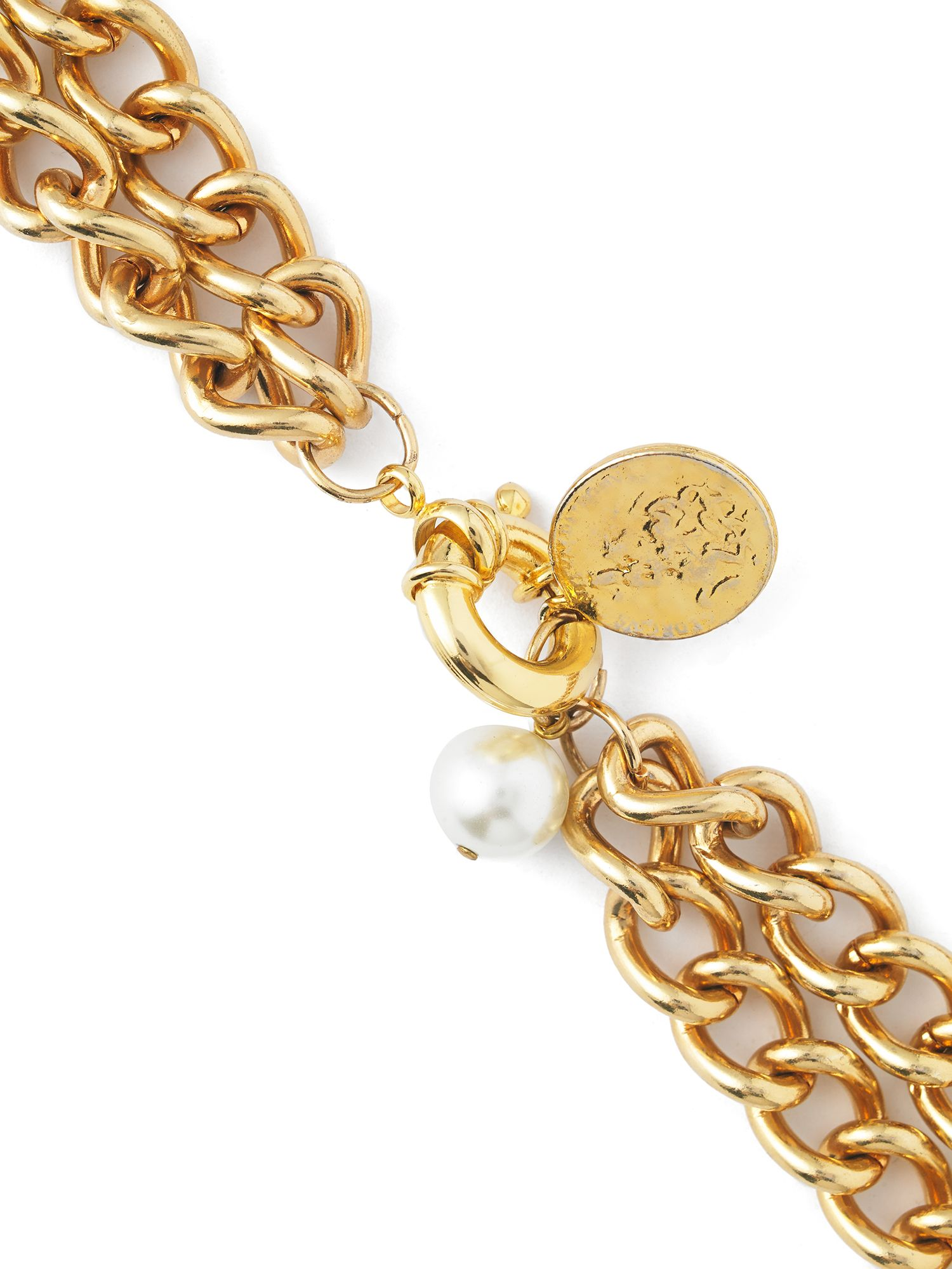 Jaeger: Chain Coin and Pearl Necklace