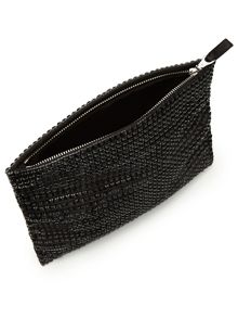 Beaded Harper Foldover Clutch