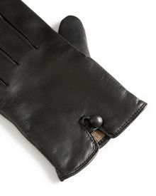 Cropped Leather Gloves