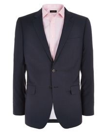 Jaeger Check Notch Collar Classic Fit Suit Jacket