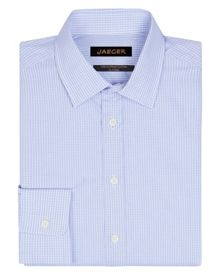 Jaeger Textured check classic shirt