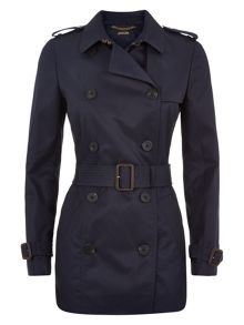 Jaeger Double-Breasted Trench Coat