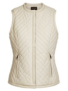 Chevron Quilted Gilet