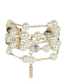 Pearl and Chain Bracelet