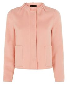 Double-Faced Cropped Jacket