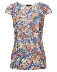 Floral Shift Top