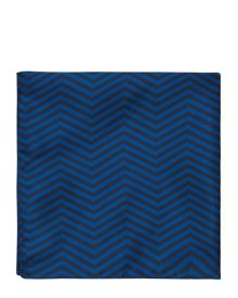 Silk Zig-Zag Pocket Square