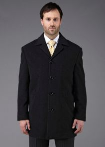 Grant single breasted overcoat