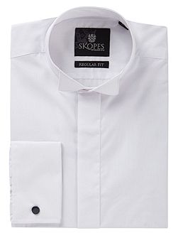 Men's Skopes Wing Collar Plain Dress Shirt