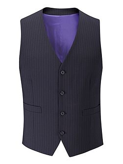 Ohio stripe single breasted waistcoat