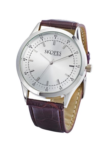 Skopes Brown Leather Watch