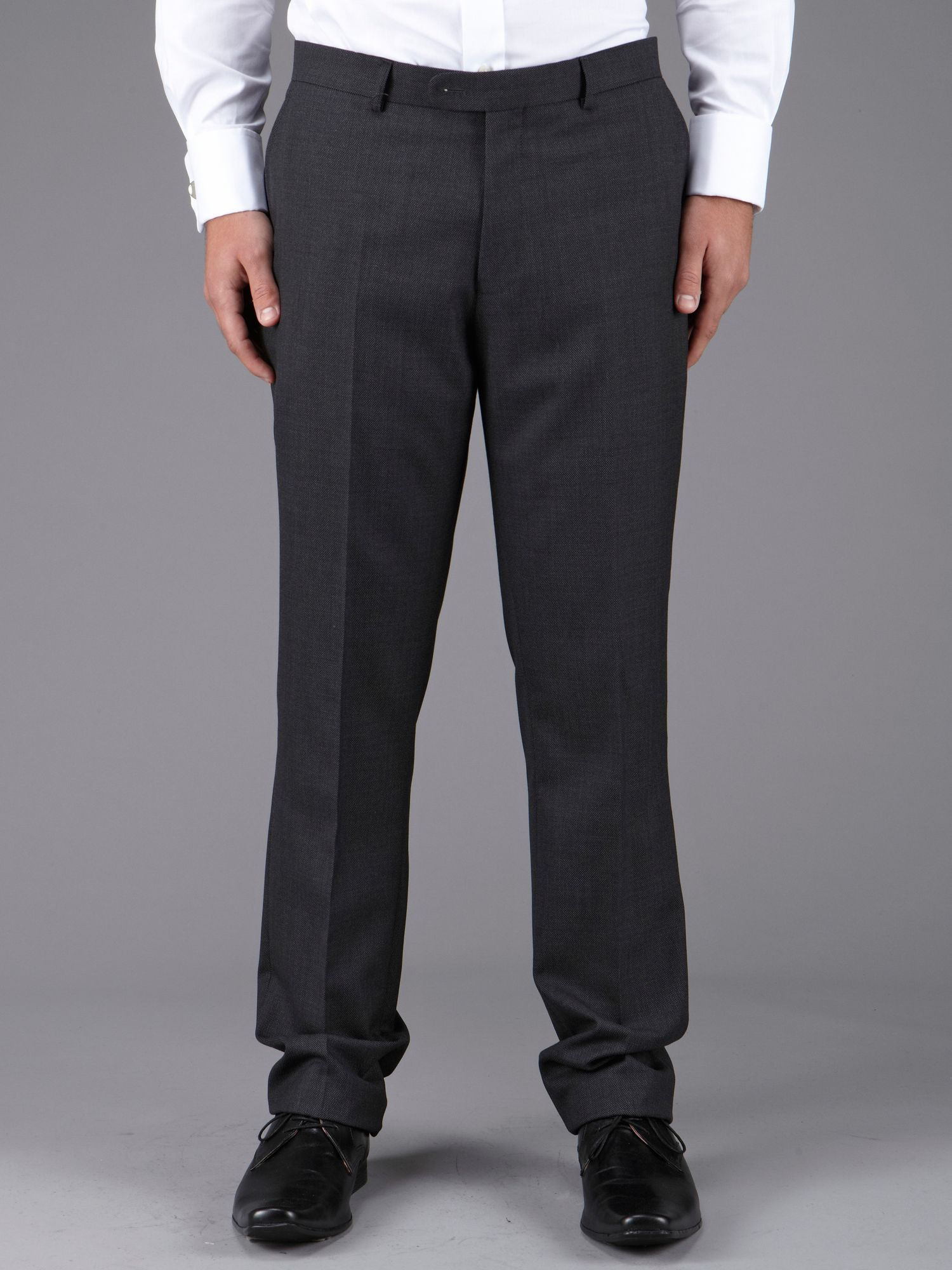 Kenny tailored fit birdseye suit trouser
