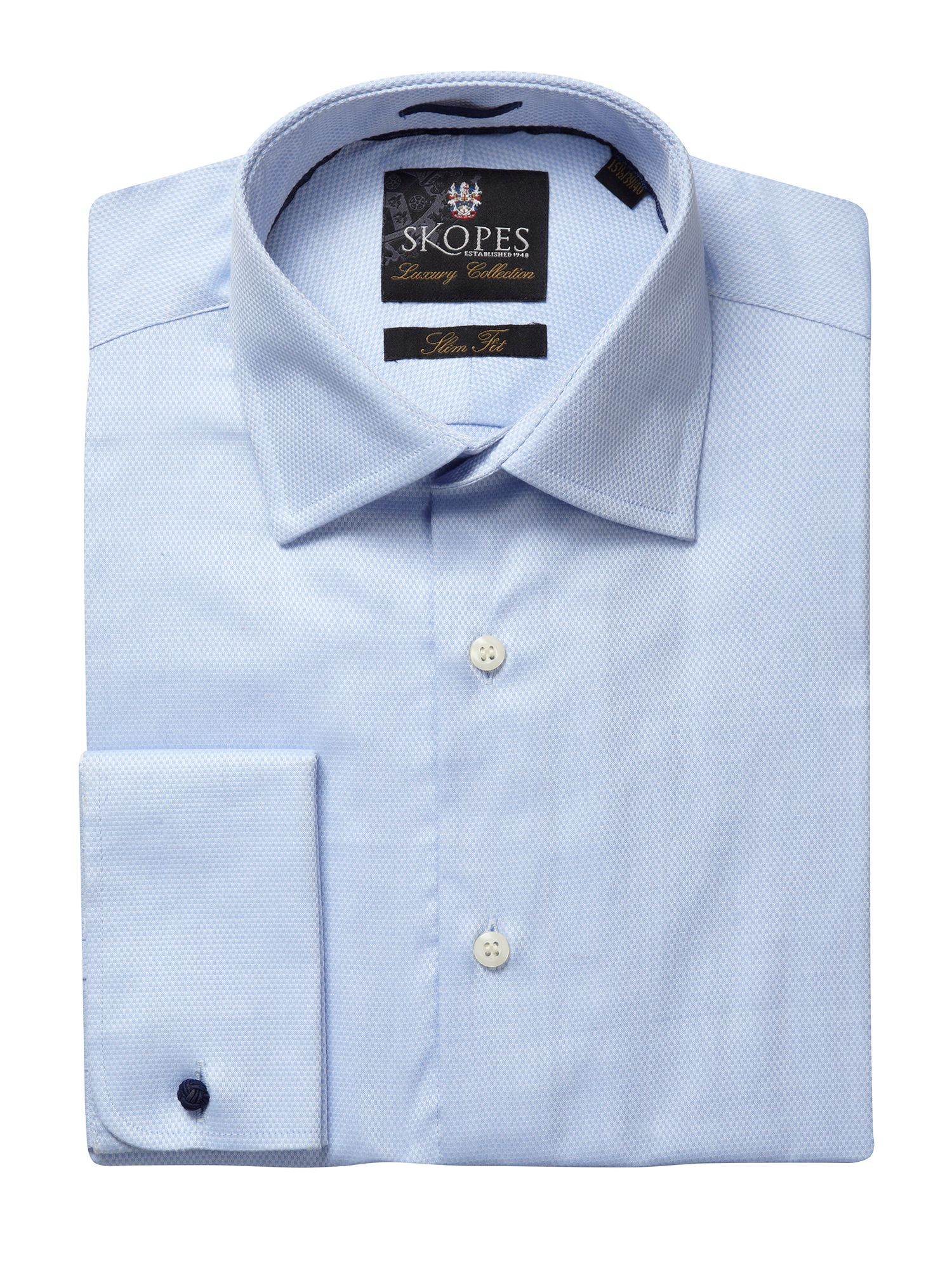 Tailored Fit Double Cuffed Shirt
