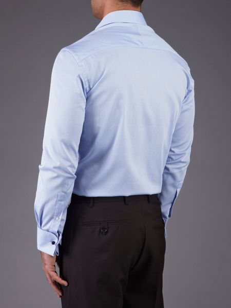 Skopes Tailored Fit Double Cuffed Shirt