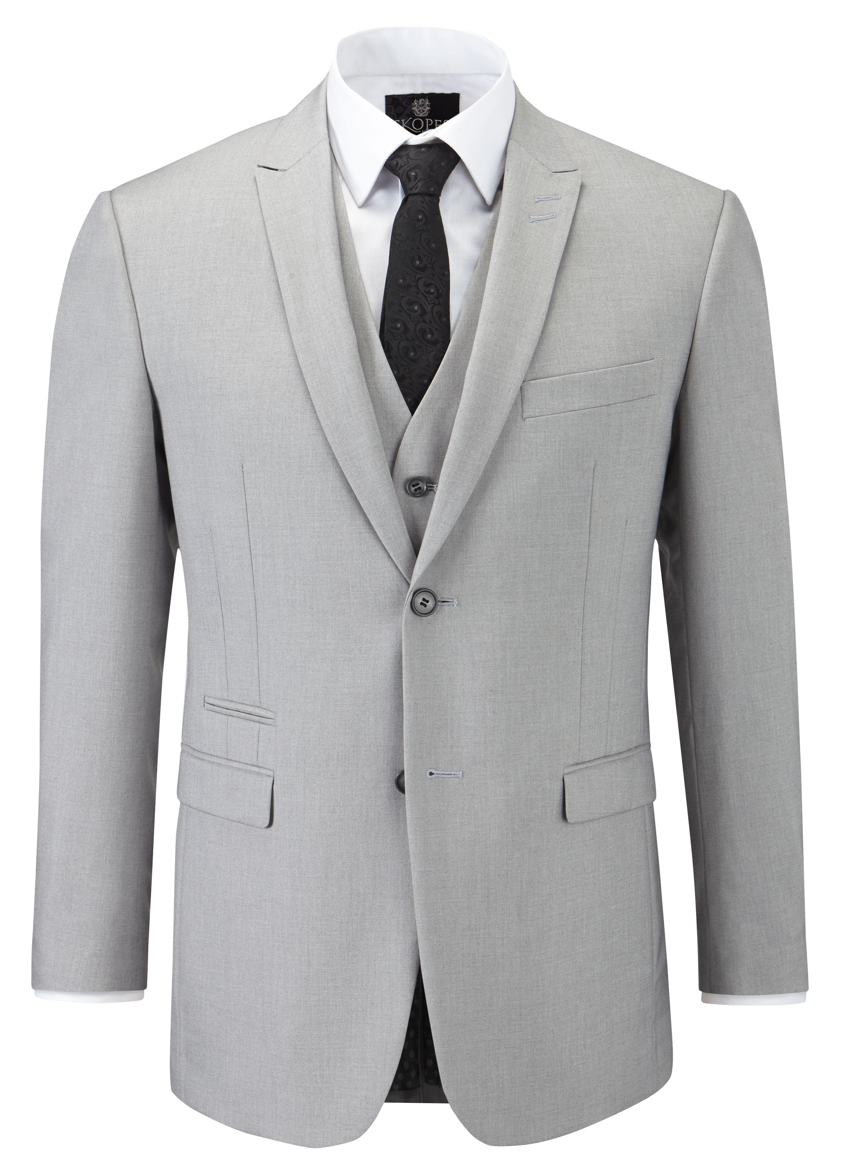Sharpe single breasted suit jacket