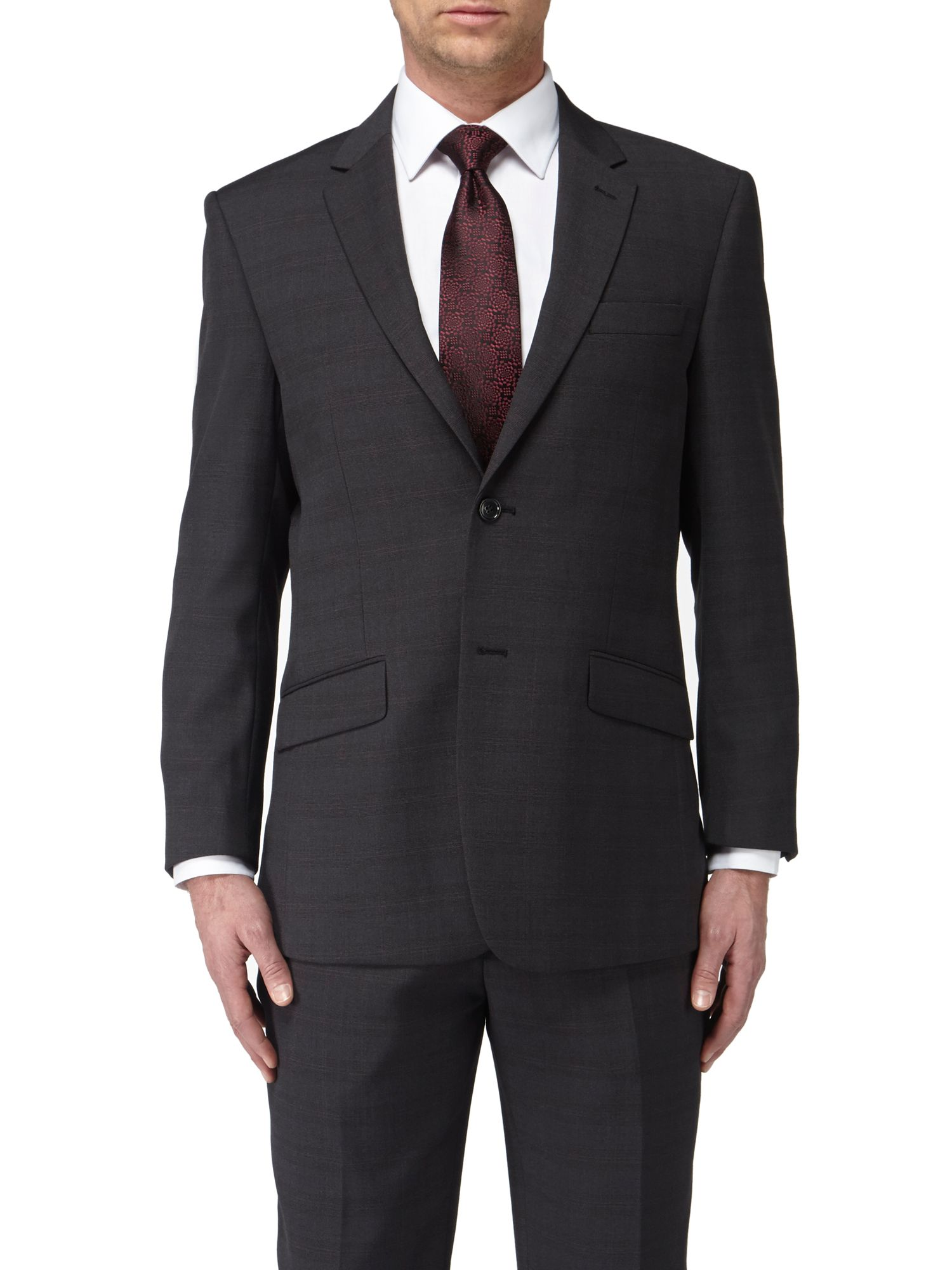 Hayle classic fit single breasted suit jacket