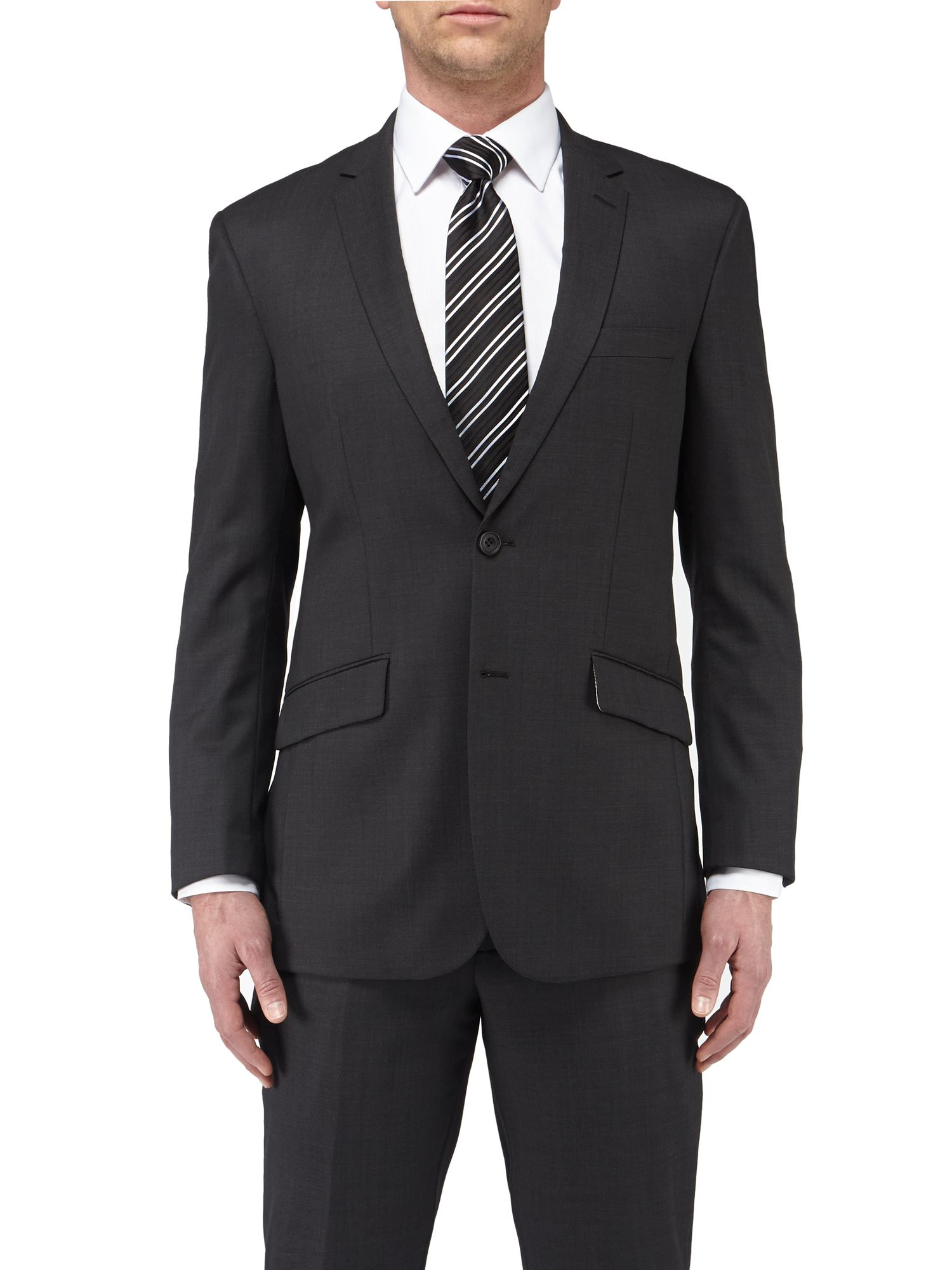 Haxby single breasted suit jacket