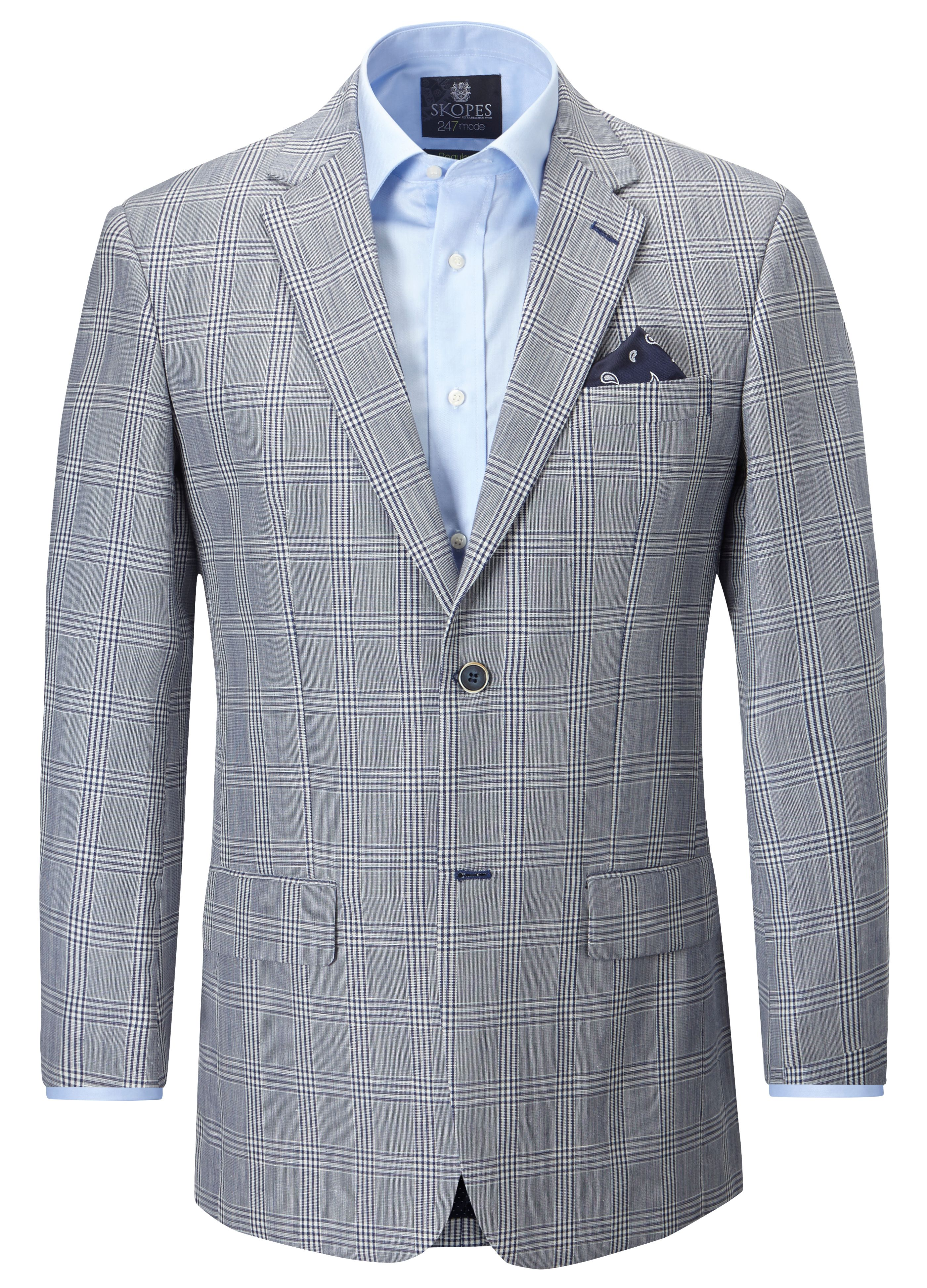 Lisbon tailored single breasted formal blazer