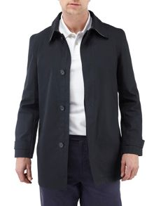 Leipzig formal showerproof button overcoat