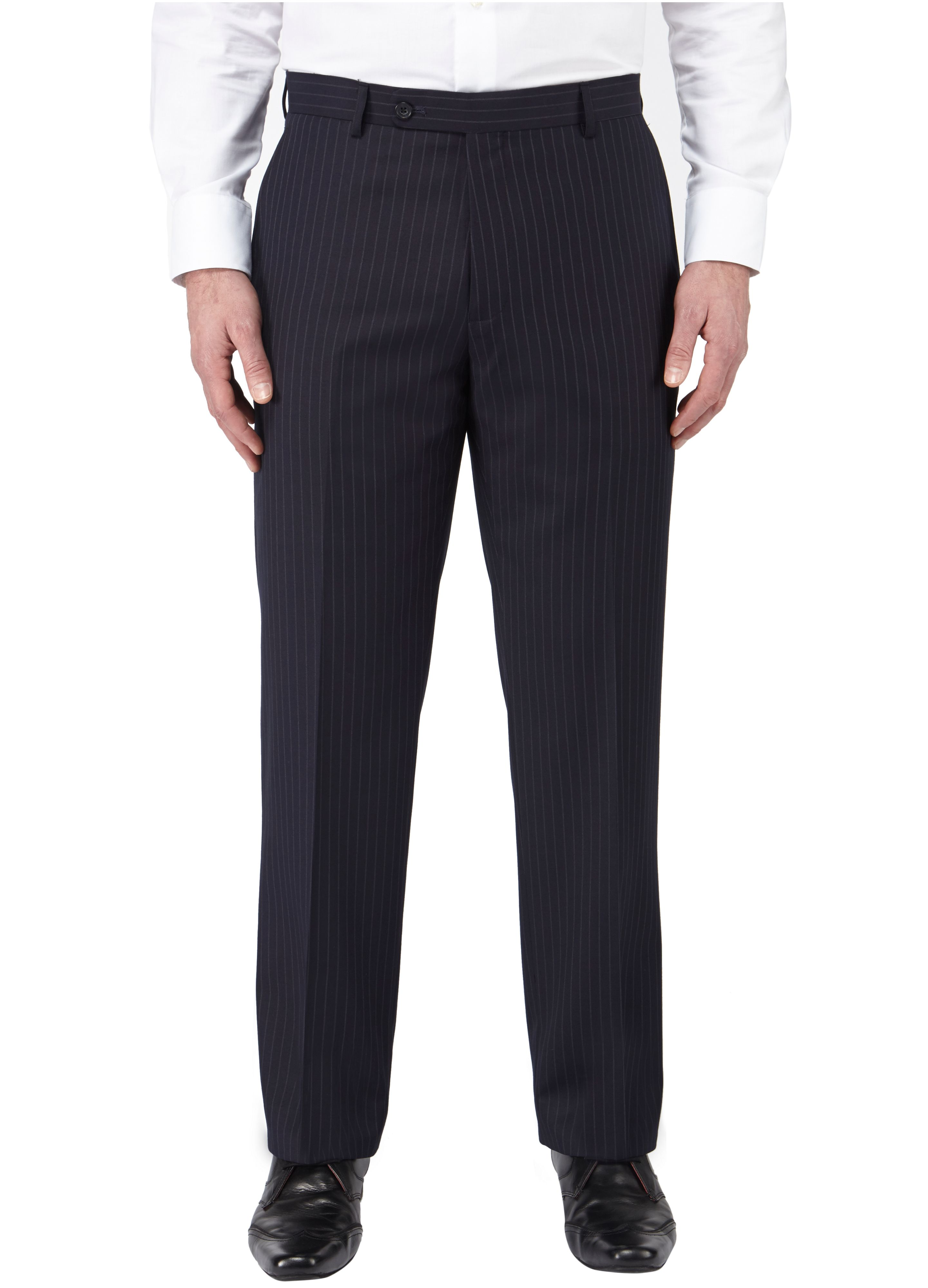 Poole stripe formal suit trouser