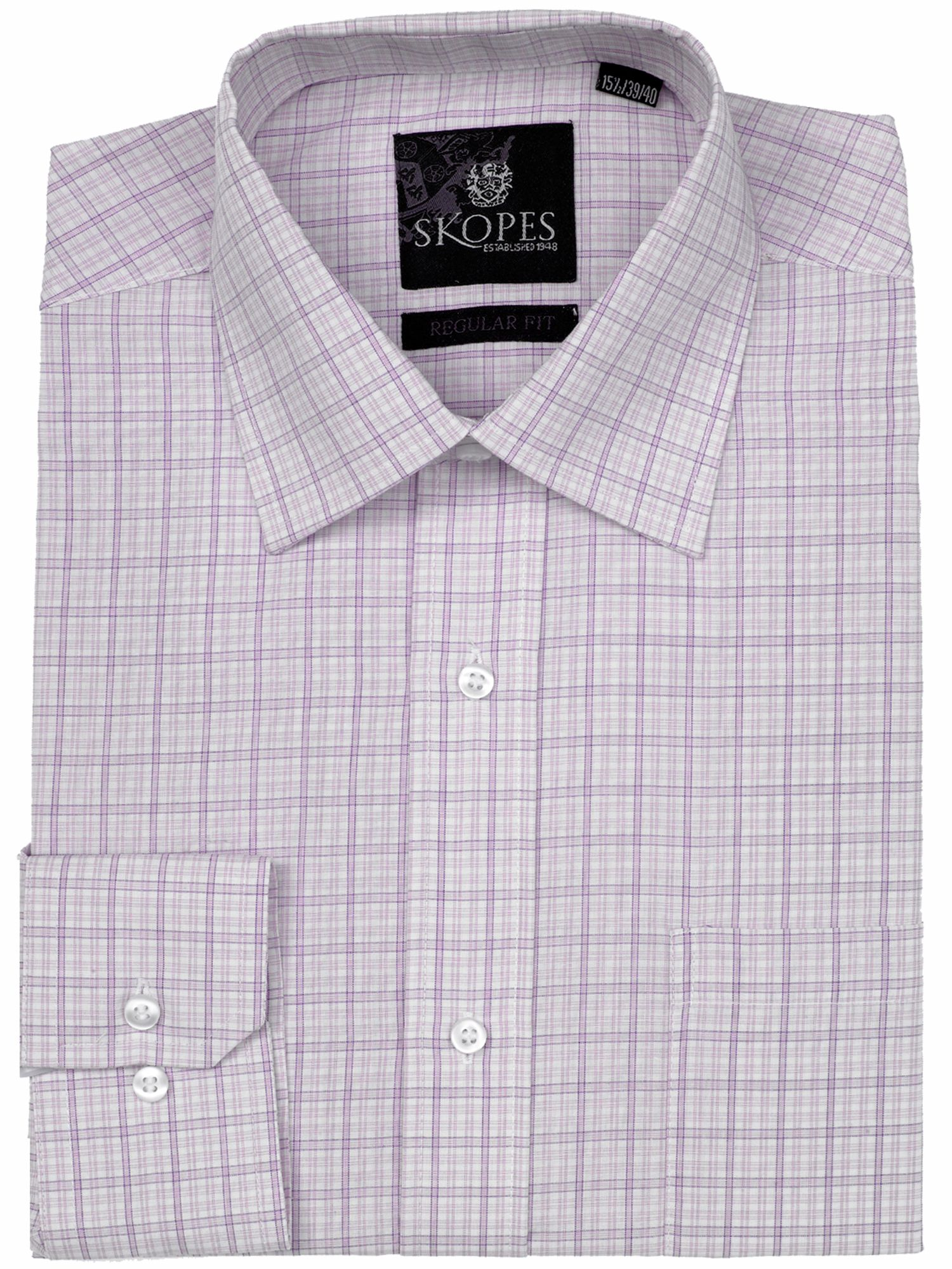 Easy care regular fit formal shirt