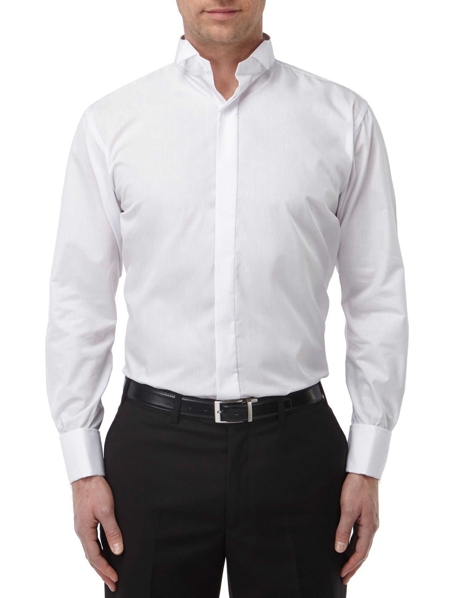 Easy care slim fit dress shirt