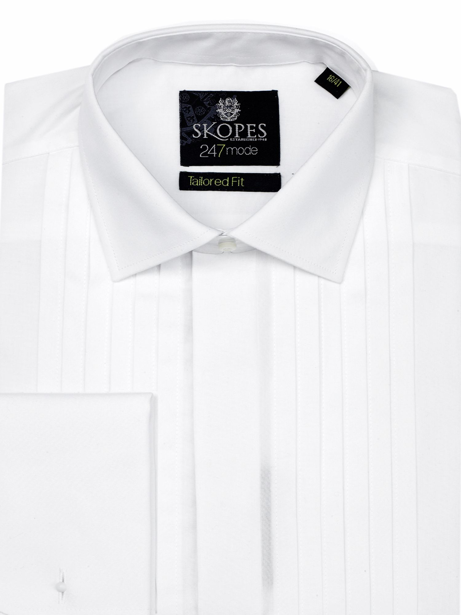 24/7 mode slim fit formal dress shirt