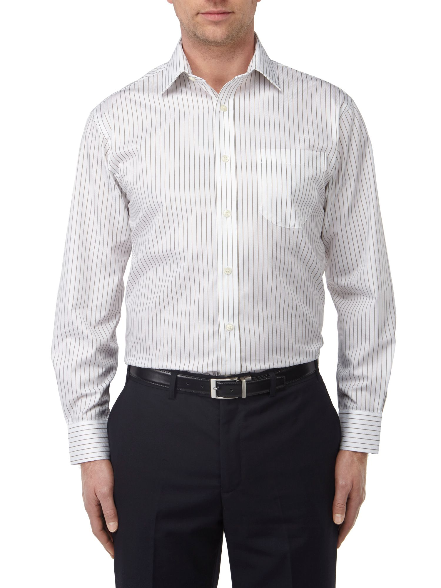 Luxury collection stripe regular fit shirt
