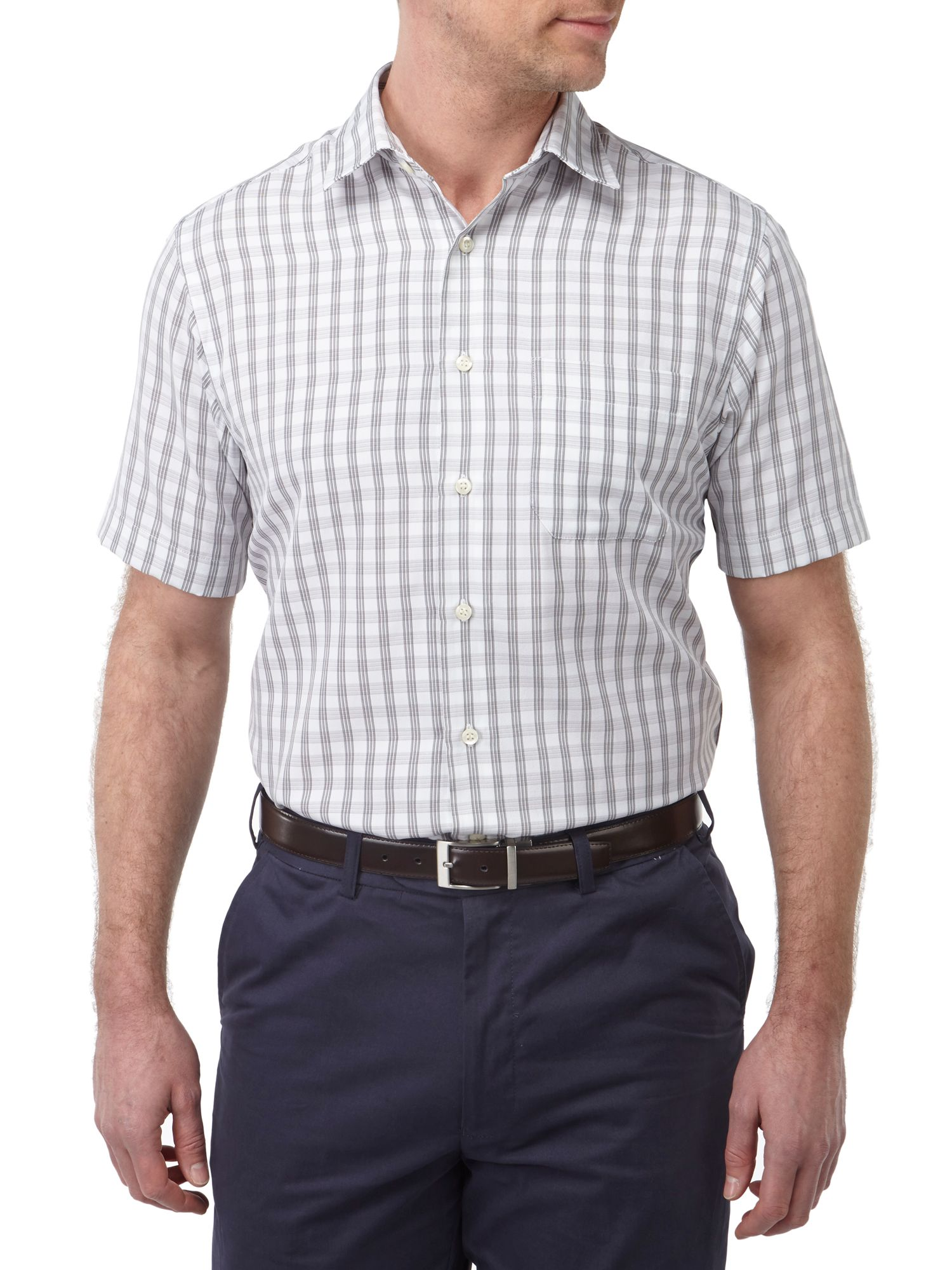 Casual soft touch short sleeve shirt