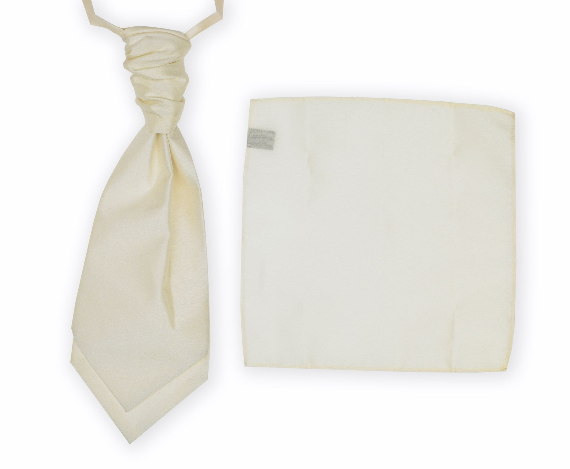 Wedding package cravat & pocket square