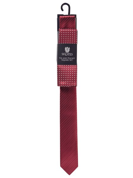 Skopes Tie and pocket square