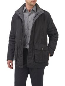 Powell quilted coat