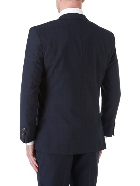 Skopes Trueman Check Peak Collar Tailored Suit Jacket