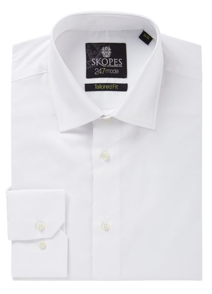 Skopes Plain Tailored Fit Formal Shirt